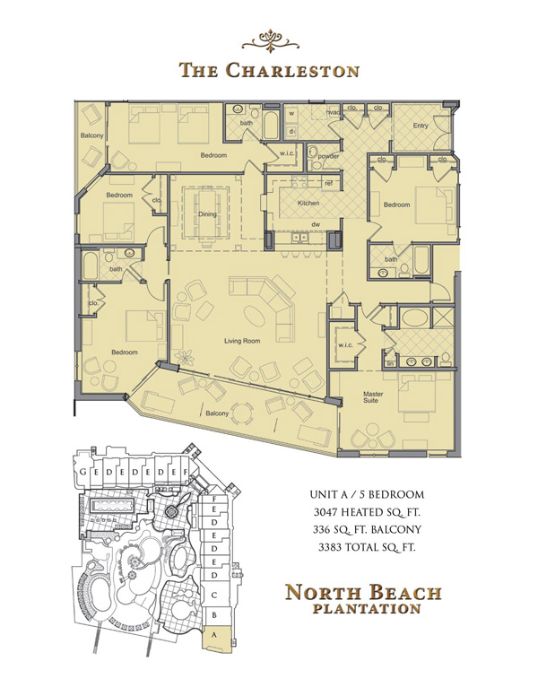 North Beach Towers Floor Plans Myrtle
